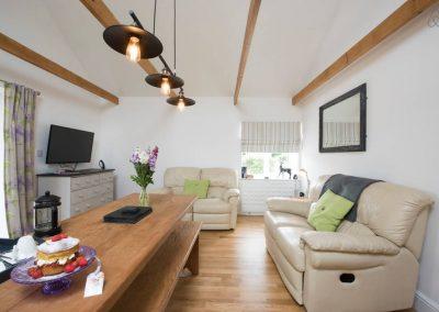 Stable Oak Cottages Living Room